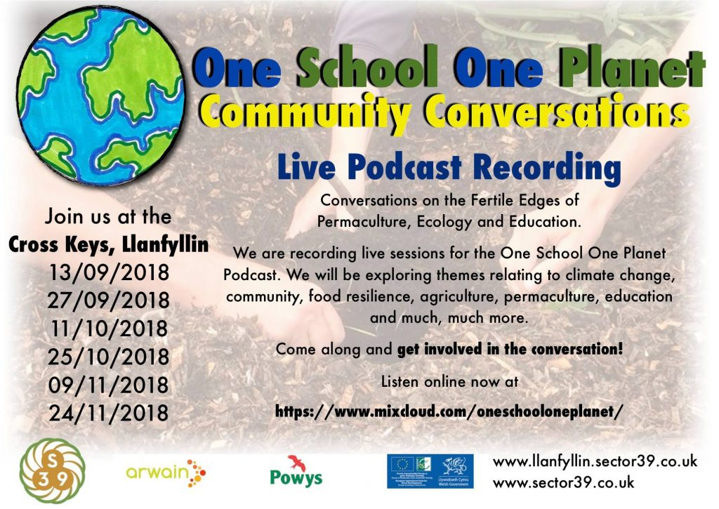 one school one planet podcast